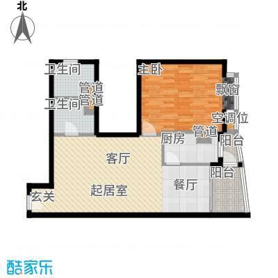 璟泰大厦76.14㎡�泰大厦A座9-31层2单位面积7614m户型