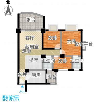 华南碧桂园芳翠苑户型