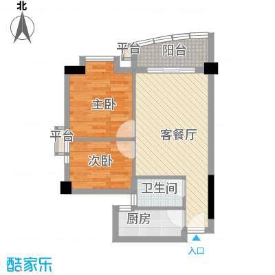 晓港西马路小区62.00㎡晓港西马面积6200m户型