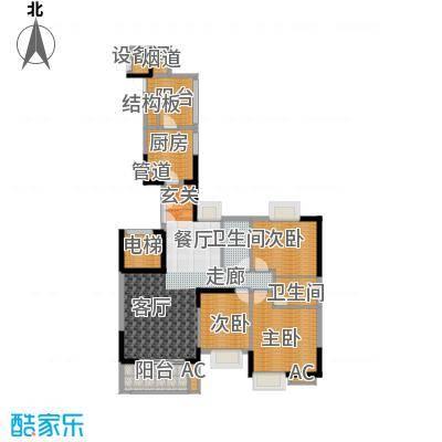 富力唐宁花园137.00㎡A5栋01面积13700m户型