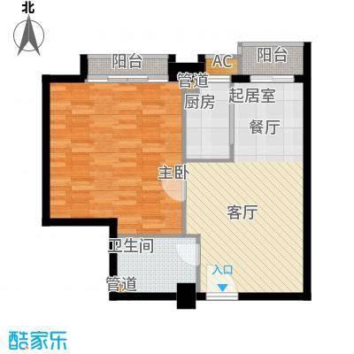 尚德大厦70.32㎡C09八至十三层面积7032m户型