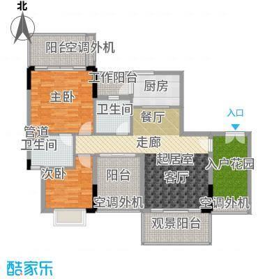 逸泉山庄别墅110.00㎡逸粤湾J1栋面积11000m户型