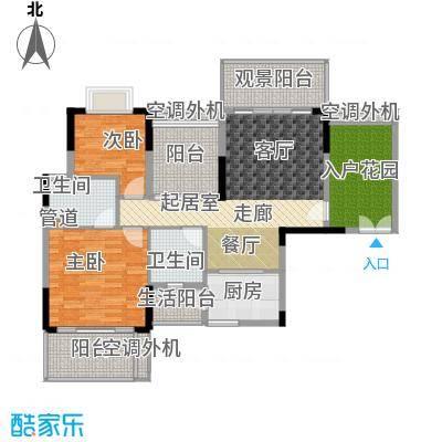 逸泉山庄别墅110.00㎡逸粤湾D3栋面积11000m户型