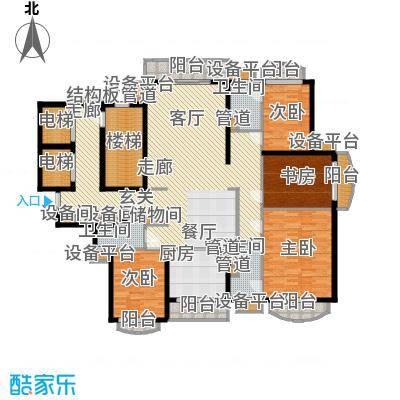 星河湾星苑194.71㎡面积19471m户型