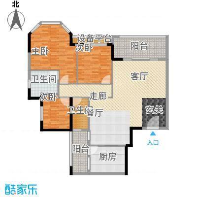 碧桂园凤凰城凤盈苑285.00㎡2面积28500m户型
