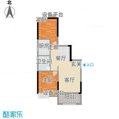 珠江都荟89.90㎡A3栋2层03单位面积8990m户型