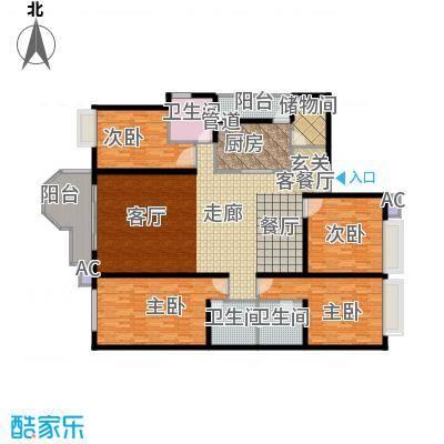珠江广场203.32㎡丽舍面积20332m户型