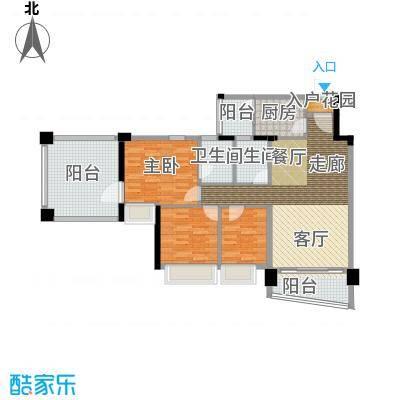 雅居乐青花南湖雅居乐・青花南湖8栋03单户型
