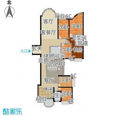 珠江广场322.09㎡丽舍C面积32209m户型