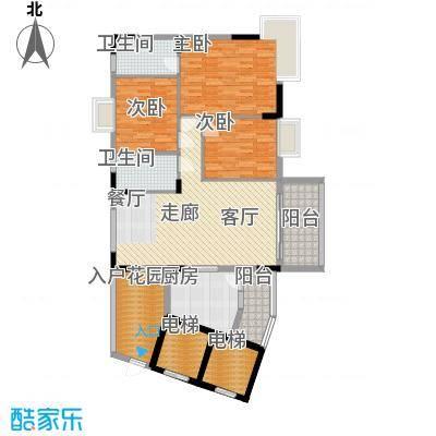 骏辉雅苑138.00㎡二期01面积13800m户型