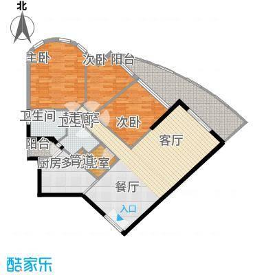 锦骏华庭4户型