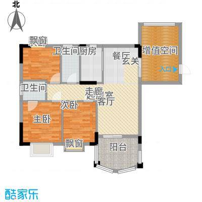 万虹花园102.05㎡三期C7栋03单位面积10205m户型
