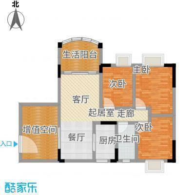 万虹花园101.93㎡三期C7栋06单位面积10193m户型