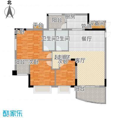 沁馥佳苑123.09㎡A4-02面积12309m户型