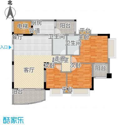 沁馥佳苑123.09㎡A4-01面积12309m户型