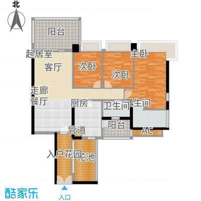凯旋门137.00㎡1座04单元(4、6、面积13700m户型