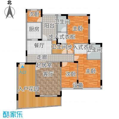 雅居乐雍逸豪廷183.65㎡Y36座202面积18365m户型