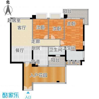 凯旋门137.00㎡1座04单元(3、5、面积13700m户型