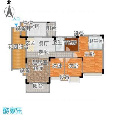 雅居乐雍逸豪廷139.61㎡Y30座105面积13961m户型