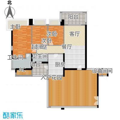 凯旋门139.00㎡3座03单元(3-19单面积13900m户型