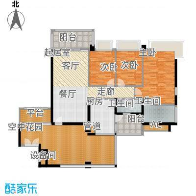 凯旋门137.00㎡2座03单元(3、5、面积13700m户型
