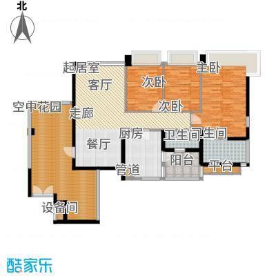 凯旋门137.00㎡2座03单元(4、6、面积13700m户型