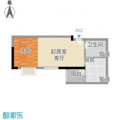 东鸣轩51.90㎡B栋10-29层31面积5190m户型