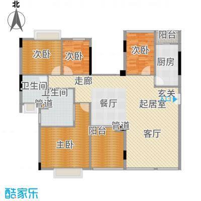 愉景南苑208.00㎡面积20800m户型