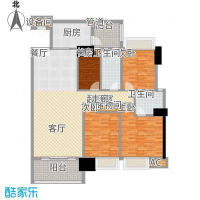 东海嘉园130.25㎡C塔11-32层014面积13025m户型