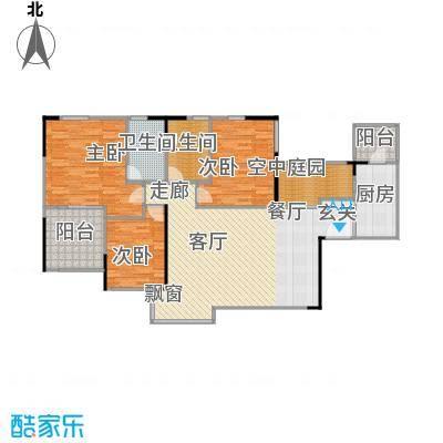 万科蓝山128.00㎡A1-012面积12800m户型