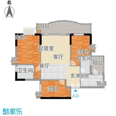 珠江太阳城广场户户型