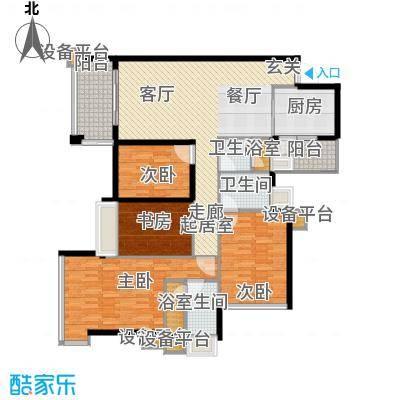 增城雅居乐御宾府144.00㎡4、5、面积14400m户型