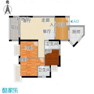 东银广场98.10㎡6-31层02、07单面积9810m户型