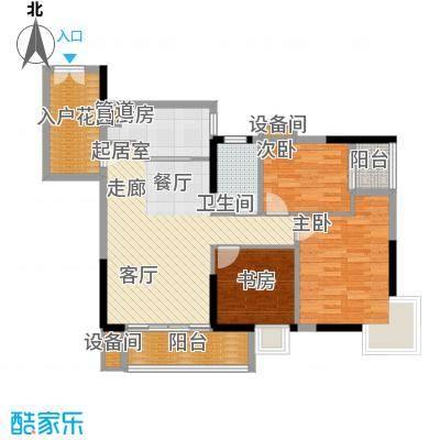 东银广场96.09㎡6-31层03、06单面积9609m户型