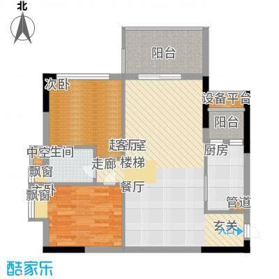 荔江美筑87.00㎡5栋18/面积8700m户型