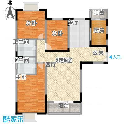 新兴骏景园110.00㎡一期面积11000m户型
