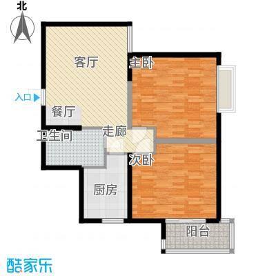 春晓馨苑84.42㎡2#4#B标面积8442m户型