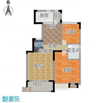中海熙岸108.00㎡面积10800m户型