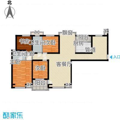 唐园新苑158.00㎡面积15800m户型