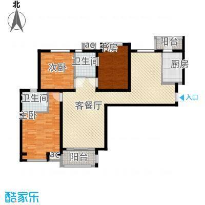 唐园新苑127.00㎡面积12700m户型