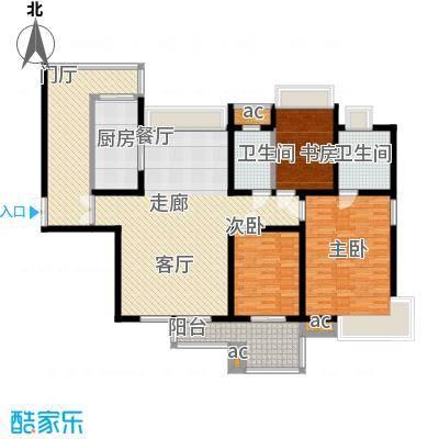 中海华庭147.00㎡面积14700m户型
