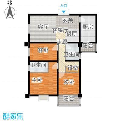 中登家园145.83㎡面积14583m户型