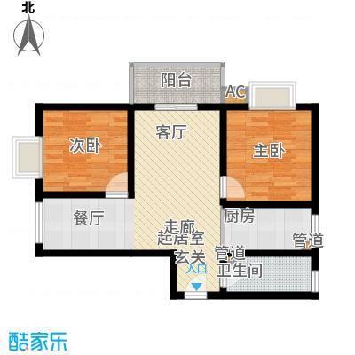 华清园小区92.00㎡面积9200m户型