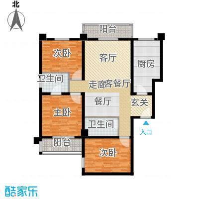 中登家园133.71㎡面积13371m户型