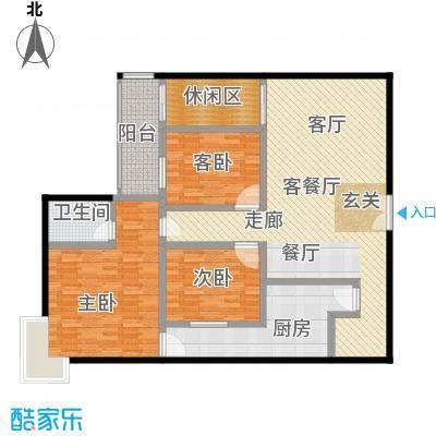 中登家园152.13㎡面积15213m户型