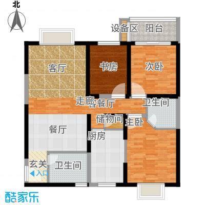 菁华名门126.00㎡面积12600m户型