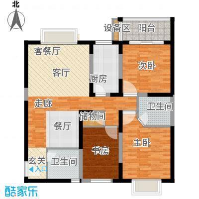 菁华名门110.00㎡面积11000m户型