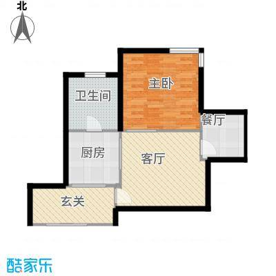紫雁朗庭93.84㎡面积9384m户型