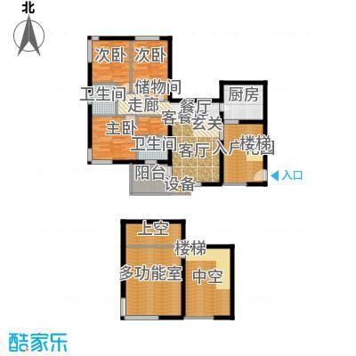 鑫龙天然居127.15㎡A2面积12715m户型