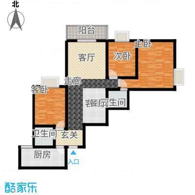 华府新桃园136.84㎡A面积13684m户型